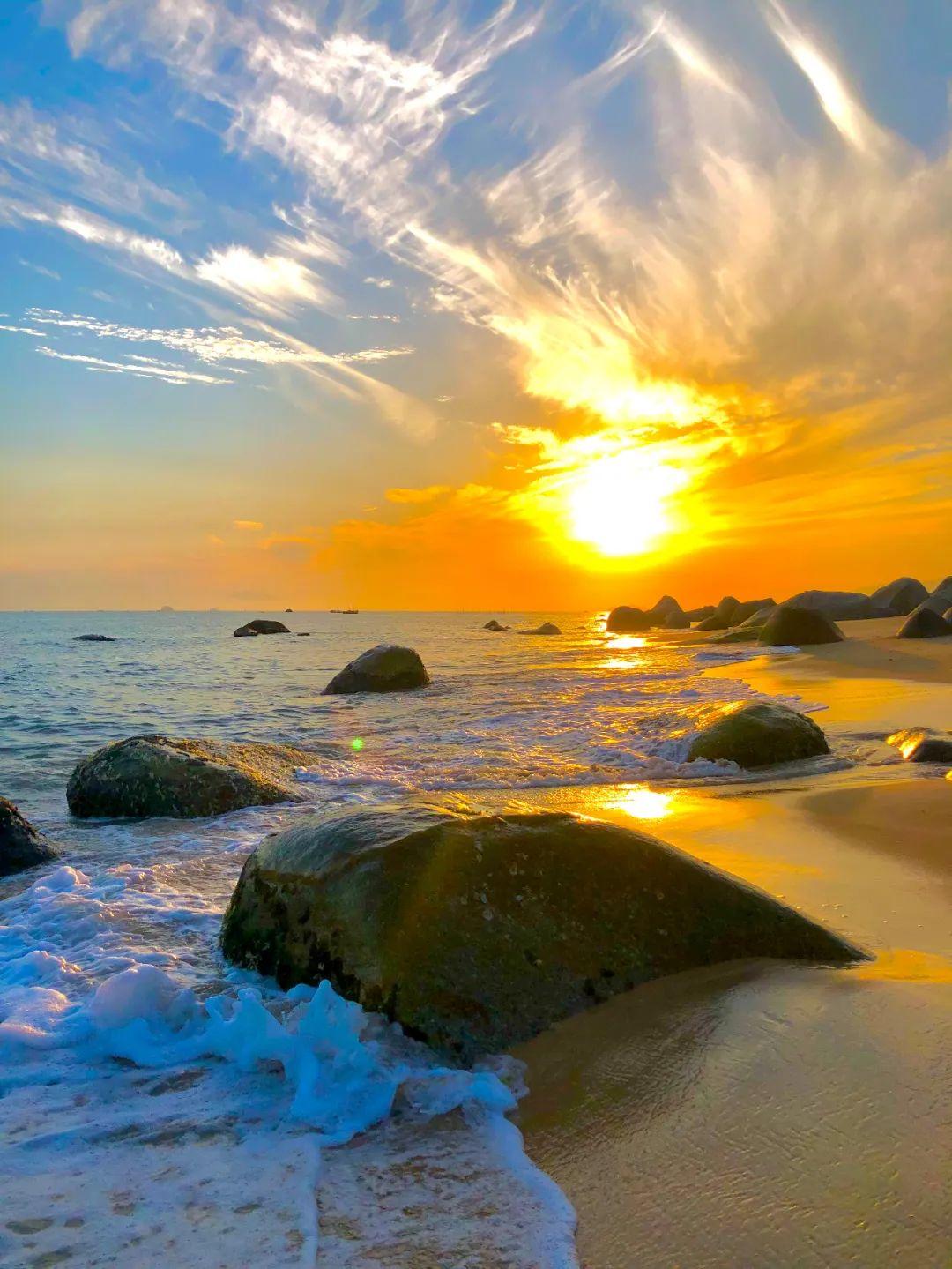 打卡陆丰最热海滩 金厢观音岭银滩 汕尾吃喝玩乐 第5张