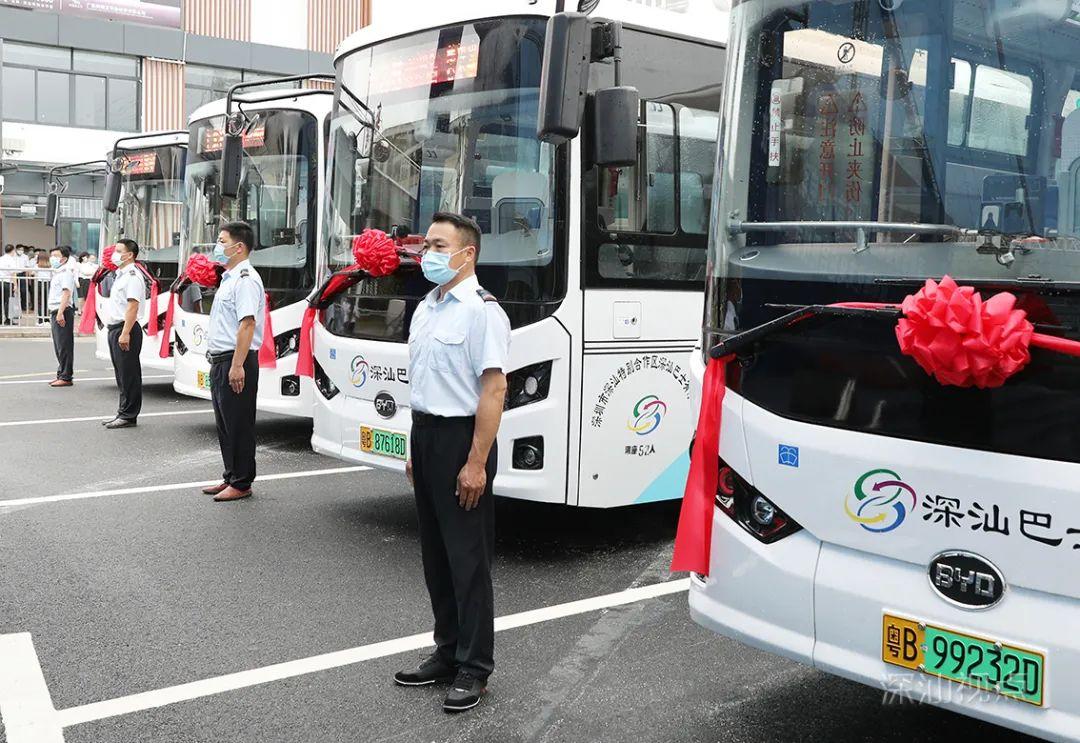 深汕区纯电动巴士投入运营 首批8条线路公布 深汕合作区新闻 第2张