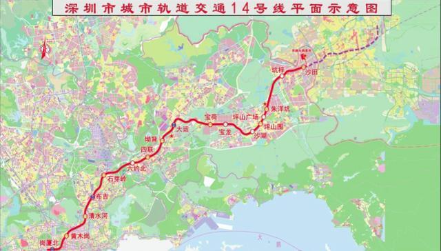 深汕高铁将设西丽站、清水河站、深汕站等6站 深汕合作区新闻 第4张