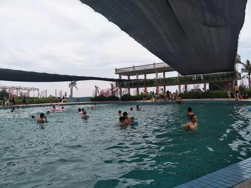陆丰甲东大雷岛度假村游泳池已经开放 陆丰新闻 第3张