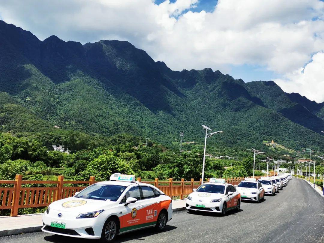 海丰首批纯电动出租车投入试运营 海丰新闻 第2张