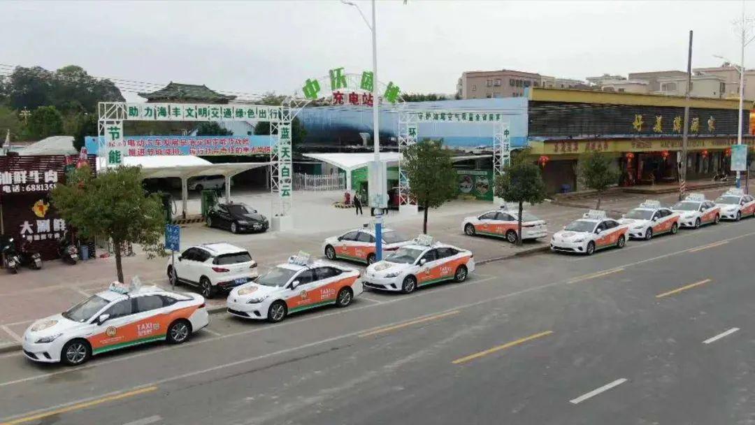 海丰首批纯电动出租车投入试运营 海丰新闻 第1张