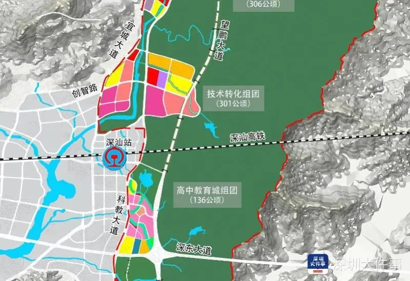 深汕交通枢纽迎新进展:将引入深汕高铁和广汕高铁 深汕合作区新闻